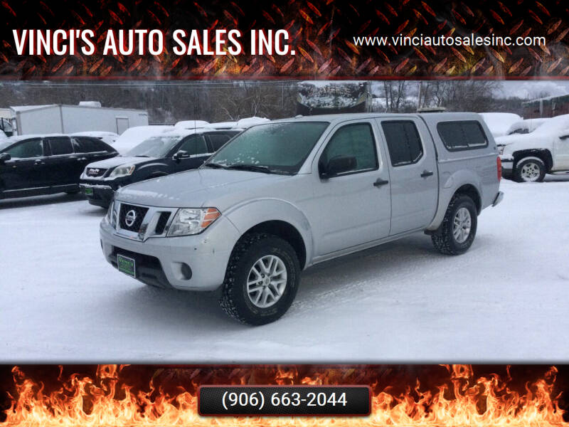 2015 Nissan Frontier for sale at Vinci's Auto Sales Inc. in Bessemer MI