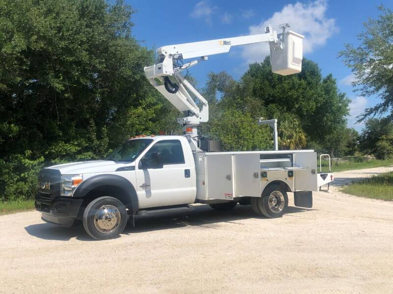 2011 Ford F-450 UTILITY BUCKET for sale at S & N AUTO LOCATORS INC in Lake Placid FL