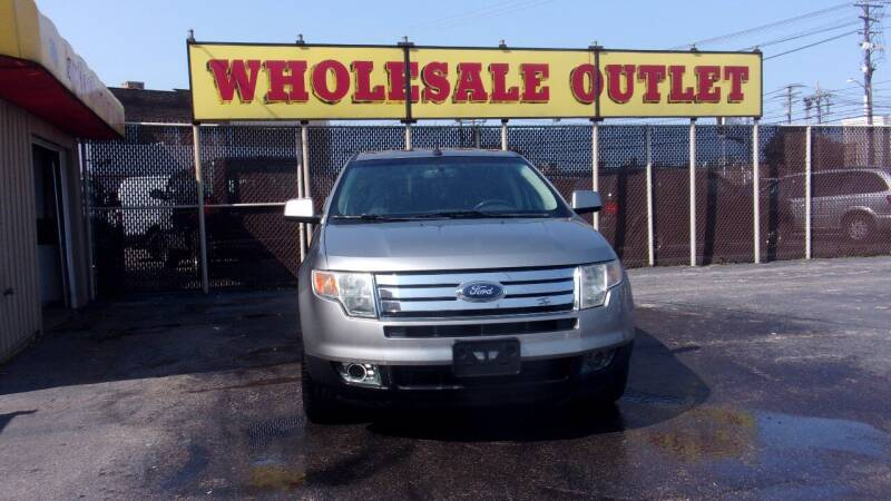 2008 Ford Edge for sale at LONG BROTHERS CAR COMPANY in Cleveland OH