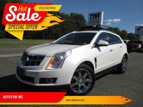 2010 Cadillac SRX for sale at AUTOTYM INC in Fredericksburg VA