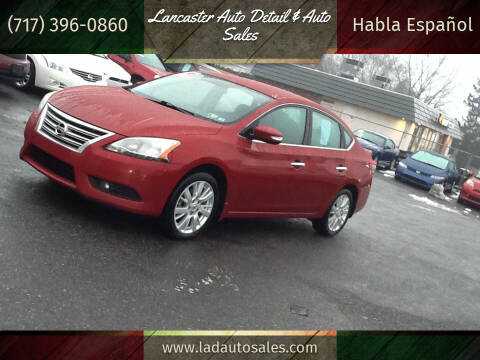 2014 Nissan Sentra for sale at Lancaster Auto Detail & Auto Sales in Lancaster PA