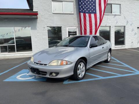 2001 Chevrolet Cavalier for sale at ELDER AUTO SALES LLC in Coeur D'Alene ID