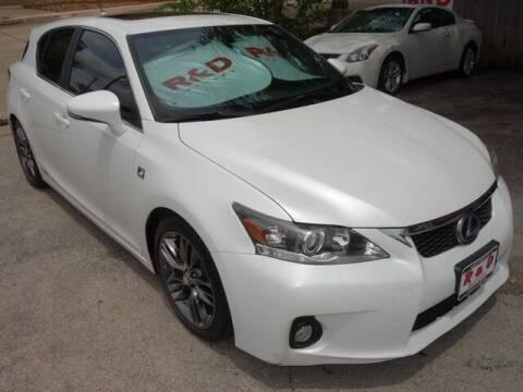 2012 Lexus CT 200h for sale at R & D Motors in Austin TX