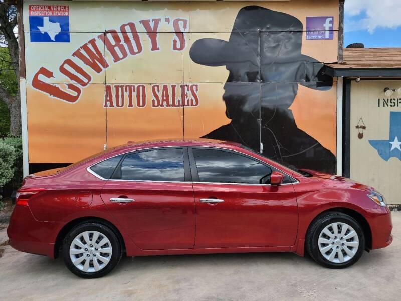 2016 Nissan Sentra for sale at Cowboy's Auto Sales in San Antonio TX