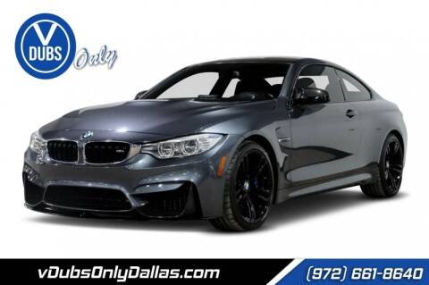 2015 BMW M4 for sale at VDUBS ONLY in Dallas TX