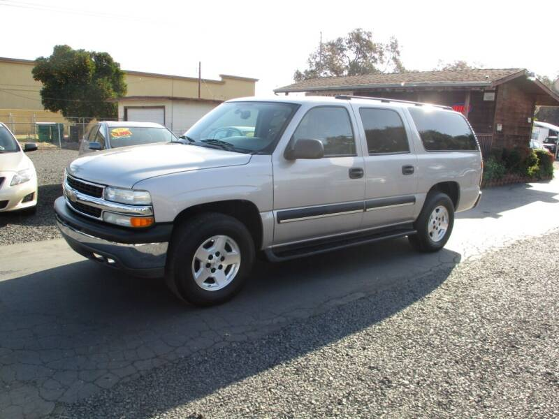 2004 Chevrolet Suburban for sale at Manzanita Car Sales in Gridley CA