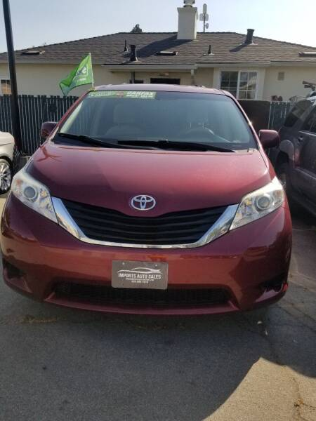 2013 Toyota Sienna for sale at Imports Auto Sales & Service in San Leandro CA
