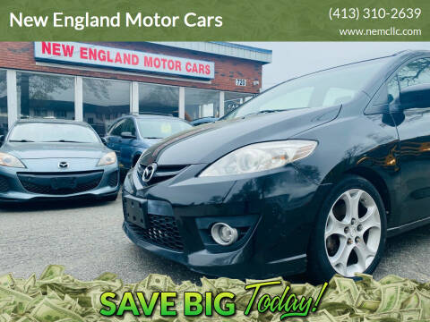 2010 Mazda MAZDA5 for sale at New England Motor Cars in Springfield MA