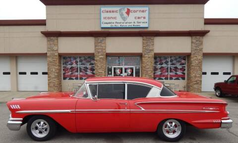 1958 Chevrolet Bel Air for sale at Iconic Motors of Oklahoma City, LLC in Oklahoma City OK