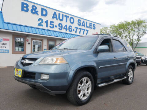 2005 Acura MDX for sale at B & D Auto Sales Inc. in Fairless Hills PA