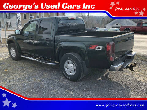 2005 Chevrolet Colorado for sale at George's Used Cars Inc in Orbisonia PA