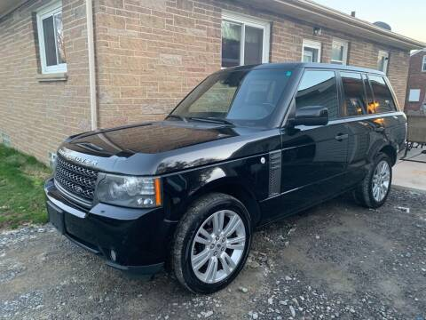 2011 Land Rover Range Rover for sale at Trocci's Auto Sales in West Pittsburg PA