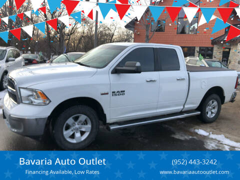 2016 RAM Ram Pickup 1500 for sale at Bavaria Auto Outlet in Victoria MN
