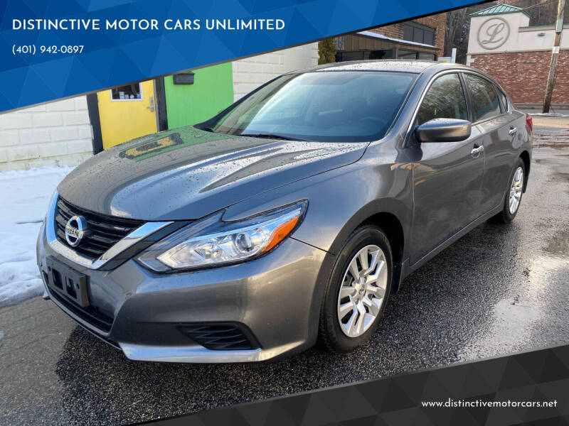 2017 Nissan Altima for sale at DISTINCTIVE MOTOR CARS UNLIMITED in Johnston RI