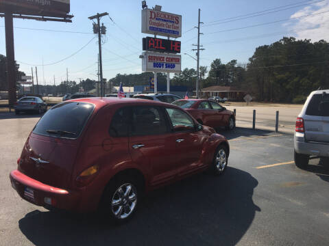 2003 Chrysler PT Cruiser for sale at Deckers Auto Sales Inc in Fayetteville NC