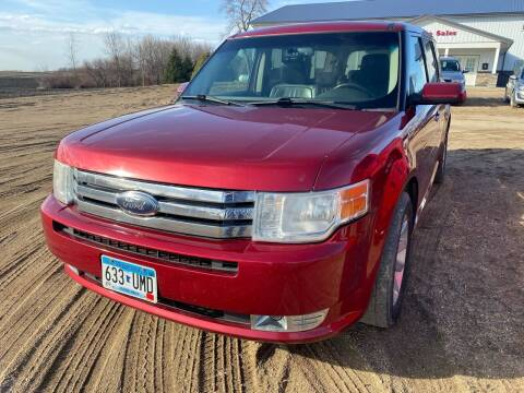 2009 Ford Flex for sale at RDJ Auto Sales in Kerkhoven MN
