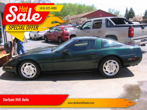 1994 Chevrolet Corvette for sale at Durham Hill Auto in Muskego WI