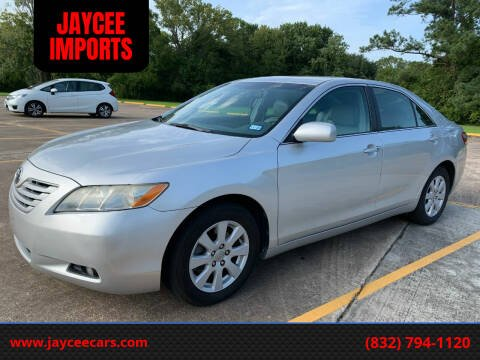 2009 Toyota Camry for sale at JAYCEE IMPORTS in Houston TX