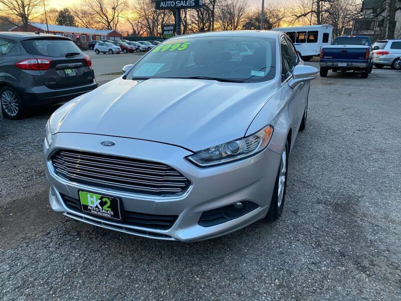 2015 Ford Fusion for sale at BK2 Auto Sales in Beloit WI