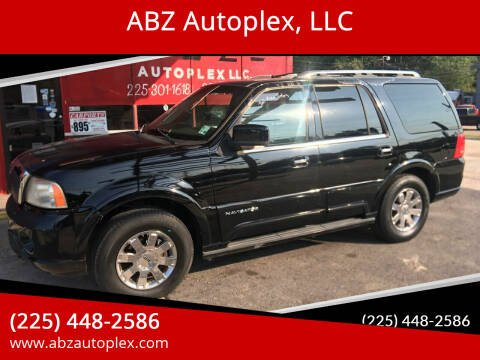 2004 Lincoln Navigator for sale at ABZ Autoplex, LLC in Baton Rouge LA