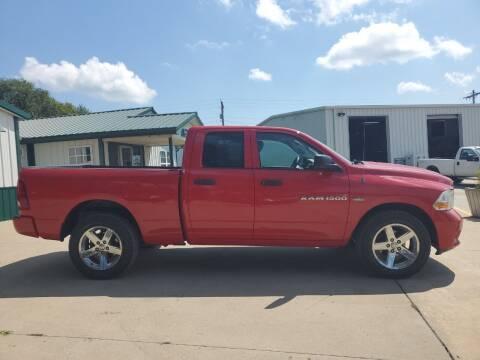 2012 RAM Ram Pickup 1500 for sale at Town & Country Motors Inc. in Meriden KS