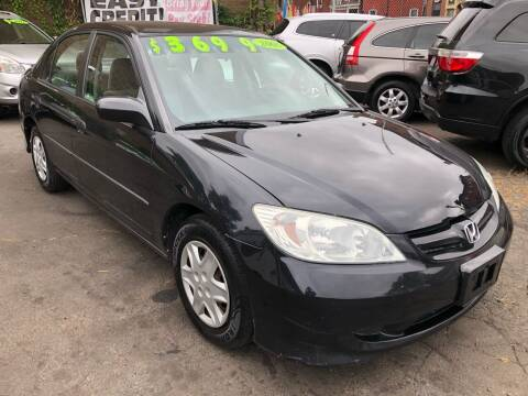 2005 Honda Civic for sale at James Motor Cars in Hartford CT