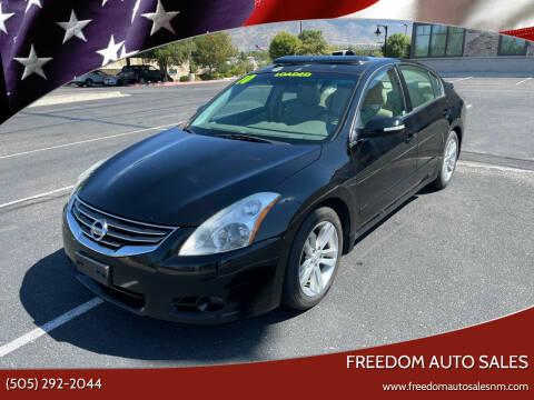 2010 Nissan Altima for sale at Freedom Auto Sales in Albuquerque NM
