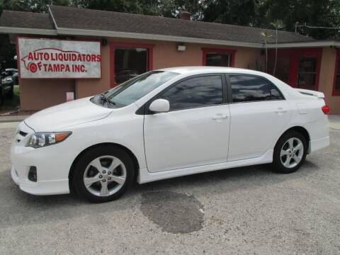 2011 Toyota Corolla for sale at Auto Liquidators of Tampa in Tampa FL