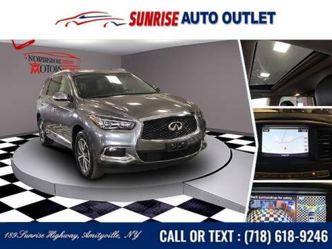 2017 Infiniti QX60 for sale at Sunrise Auto Outlet in Amityville NY