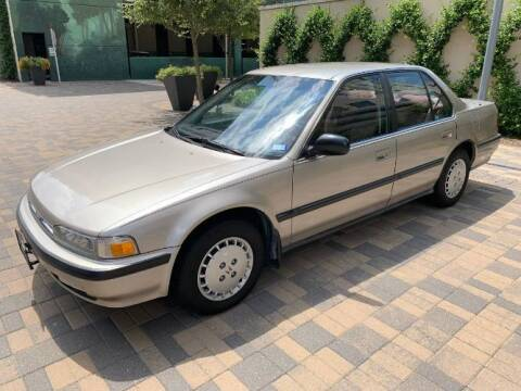 1990 Honda Accord for sale at Classic Car Deals in Cadillac MI