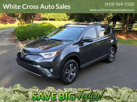 2016 Toyota RAV4 for sale at White Cross Auto Sales in Chapel Hill NC