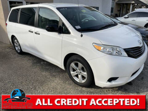 2014 Toyota Sienna for sale at World Class Auto Exchange in Lansdowne PA
