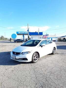 2015 Honda Civic for sale at Autosales Kingdom in Lancaster CA