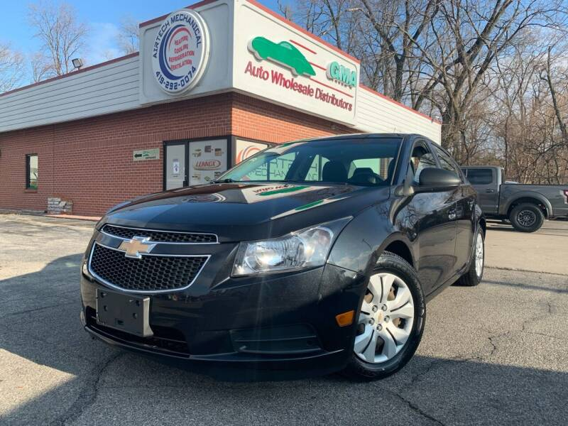 2012 Chevrolet Cruze for sale at GMA Automotive Wholesale in Toledo OH