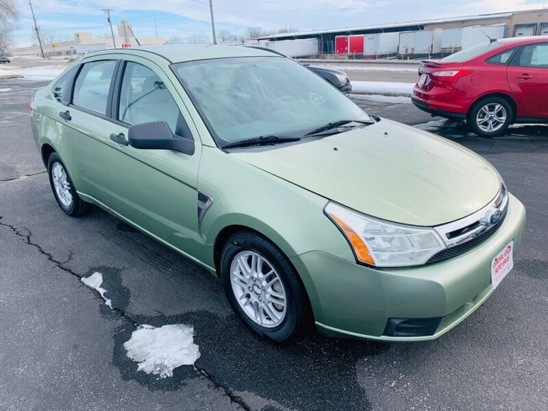 2008 Ford Focus for sale at Central Iowa Auto Sales in Des Moines IA