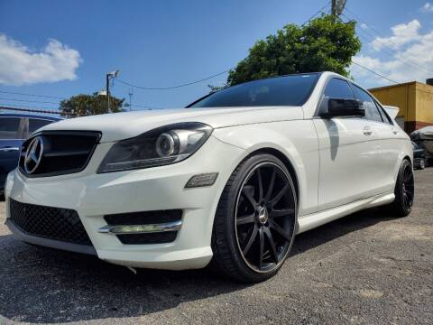 2013 Mercedes-Benz C-Class for sale at Maxicars Auto Sales in West Park FL