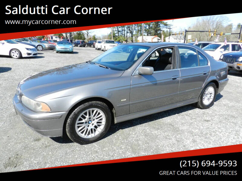 2002 BMW 5 Series for sale at Saldutti Car Corner in Gilbertsville PA