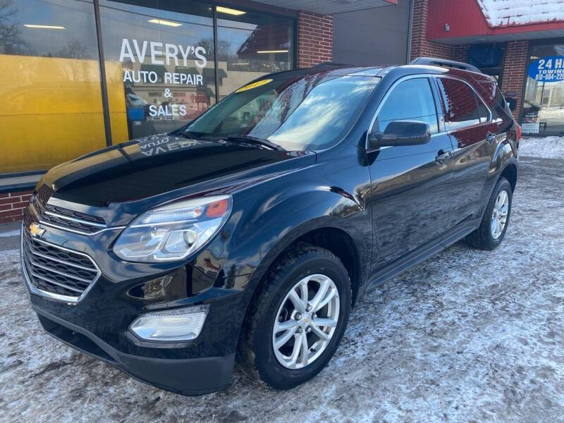 2017 Chevrolet Equinox for sale at Averys Auto Group in Lapeer MI