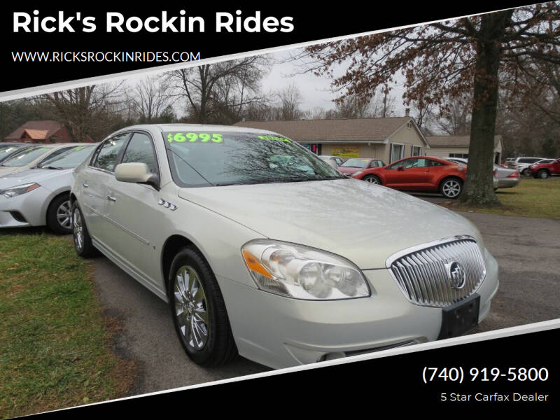 2010 Buick Lucerne for sale at Rick's Rockin Rides in Reynoldsburg OH