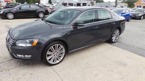 2014 Volkswagen Passat for sale at Unlimited Auto Sales in Upper Marlboro MD