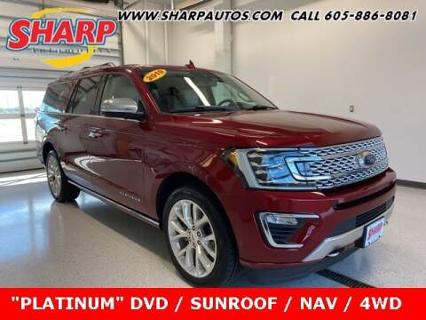2019 Ford Expedition MAX for sale at Sharp Automotive in Watertown SD
