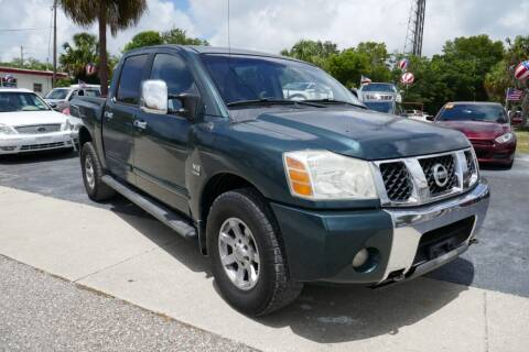 2004 Nissan Titan for sale at J Linn Motors in Clearwater FL