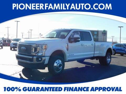 2021 Ford F-450 Super Duty for sale at Pioneer Family auto in Marietta OH