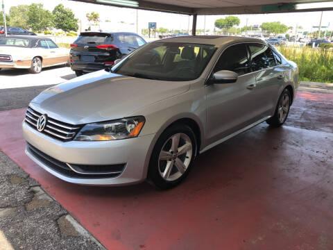 2013 Volkswagen Passat for sale at Reliable Motor Broker INC in Tampa FL