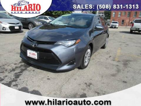 2018 Toyota Corolla for sale at Hilario's Auto Sales in Worcester MA