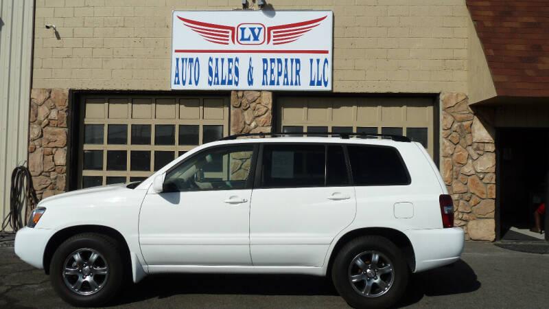 2004 Toyota Highlander for sale at LV Auto Sales & Repair, LLC in Yakima WA