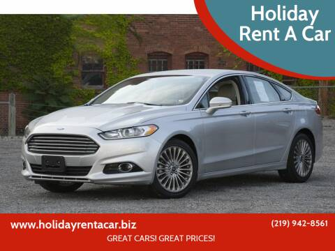 2016 Ford Fusion for sale at Holiday Rent A Car in Hobart IN