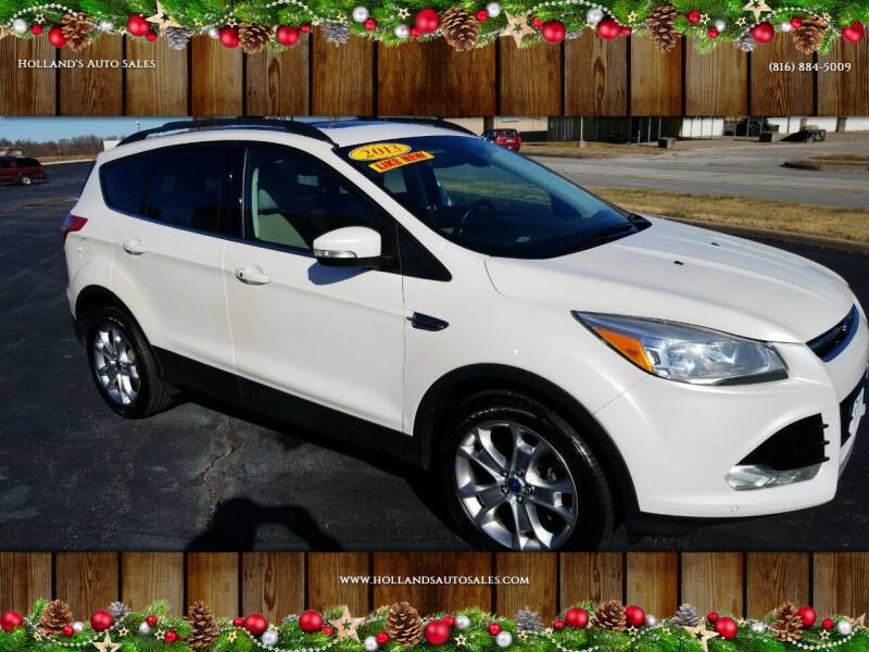 2013 Ford Escape for sale at Holland's Auto Sales in Harrisonville MO