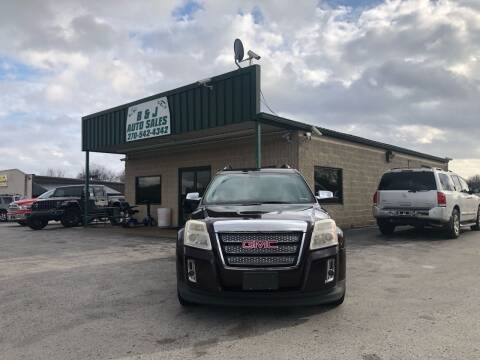2011 GMC Terrain for sale at B & J Auto Sales in Auburn KY