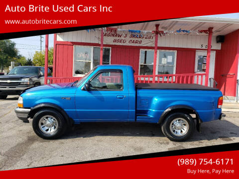 1998 Ford Ranger for sale at Auto Brite Used Cars Inc in Saginaw MI